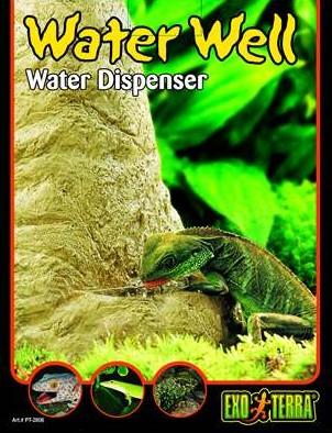 Автоматическая поилка для рептилий Exo-Terra Water Dispenser