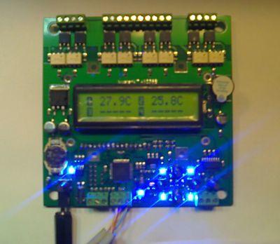 Автоматизация террариума с помощью контроллера BM8036